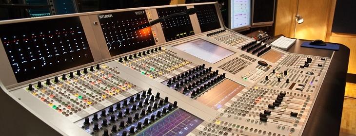 audiovisuelle medien Master Headerbild - Mischpult