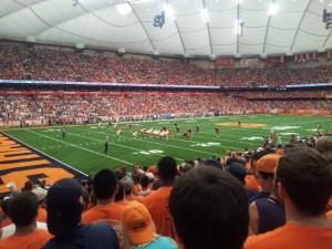 Sportveranstaltung der Syracuse University