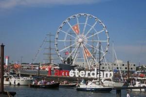 Martina besuchte die Sail 2015 Ende August in Amsterdam.