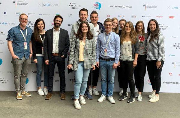 Elf HdM Studierende auf der re:publica 2019